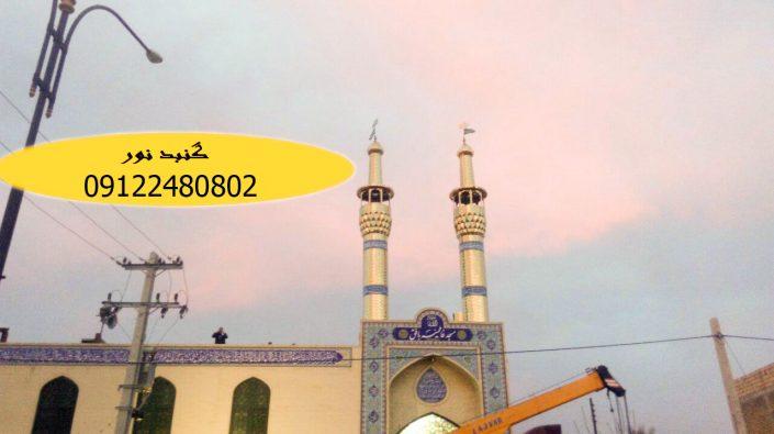 ساخت گلدسته مسجد